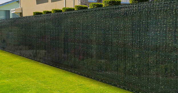 Fence screen privacy net